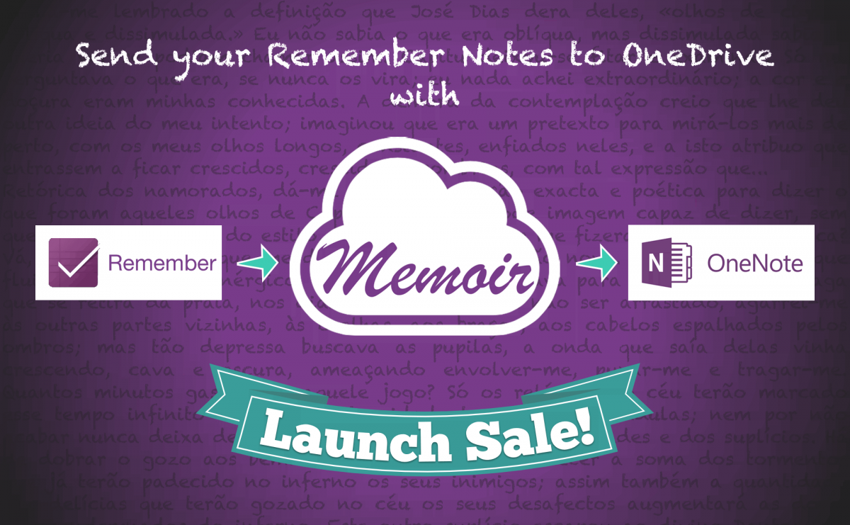 Memoir: Send your Remember Notes to Microsoft OneNote™